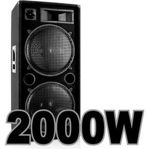 enceinte sono 2000 watts