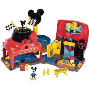 UNIVERS MINIATURE MICKEY ROADSTER RACERS  Garage de Mickey et ses Am