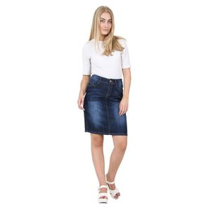 98a10ce3150 JUPE Jupe Denim Midi - look foncé Jupe en jean pour fem