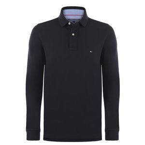 POLO Tommy Hilfiger Homme Polo Manches Longues Noir