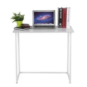 Table pliable achat vente pas cher for Meuble bureau pliable