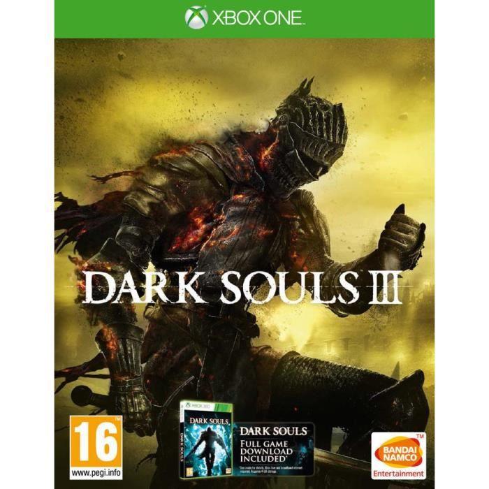 JEUX XBOX ONE Dark Soul 3 - Jeu Xbox One