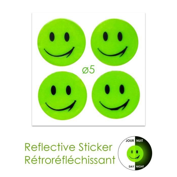 stickers smiley achat vente stickers smiley pas cher cdiscount. Black Bedroom Furniture Sets. Home Design Ideas