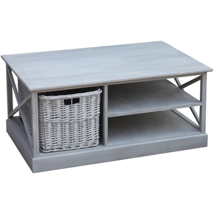 table basse panier achat vente table basse panier pas cher soldes d s le 10 janvier cdiscount. Black Bedroom Furniture Sets. Home Design Ideas