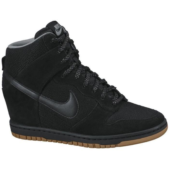 grand choix de 5feee 51e35 Nike Dunk Sky HI Noir - Achat / Vente basket - Cdiscount