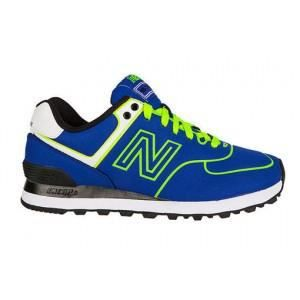 New Balance Baskets WL 574 NEB - Bleu et vert Bleu