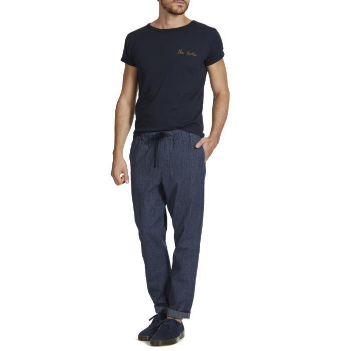 Obey Traveler Chino Achat Scatter Bleu Twill Pantalon Marine 1f8xqBwHO