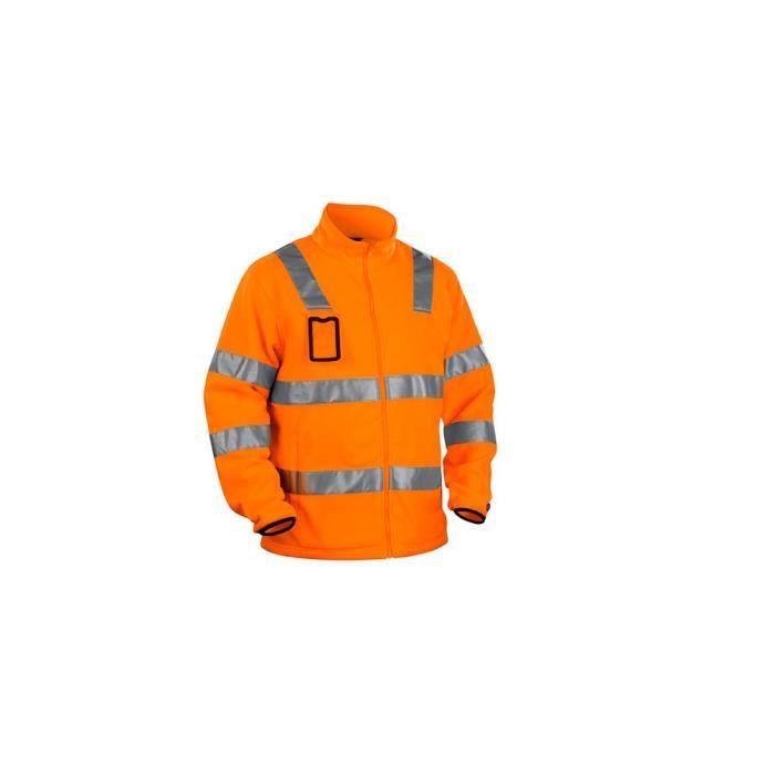 Orange 48 Achat Haute Visibilité Veste Blaklader Polaire CXpUxw6qO