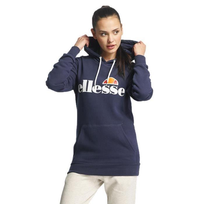 ellesse femme hauts sweat capuche torices bleu achat vente sweatshirt cdiscount. Black Bedroom Furniture Sets. Home Design Ideas
