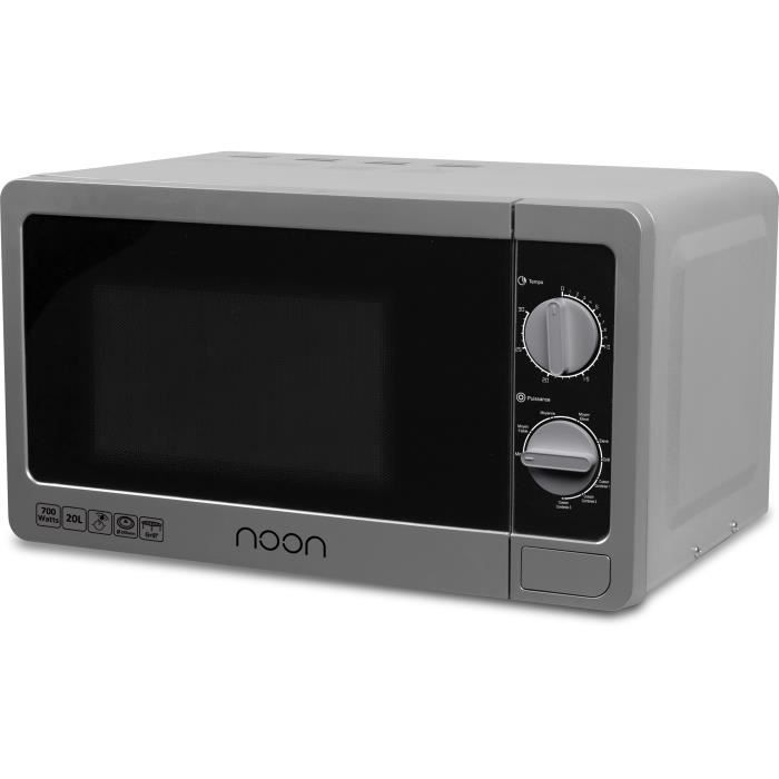 noon four micro ondes avec grill modele nmo220g silver. Black Bedroom Furniture Sets. Home Design Ideas
