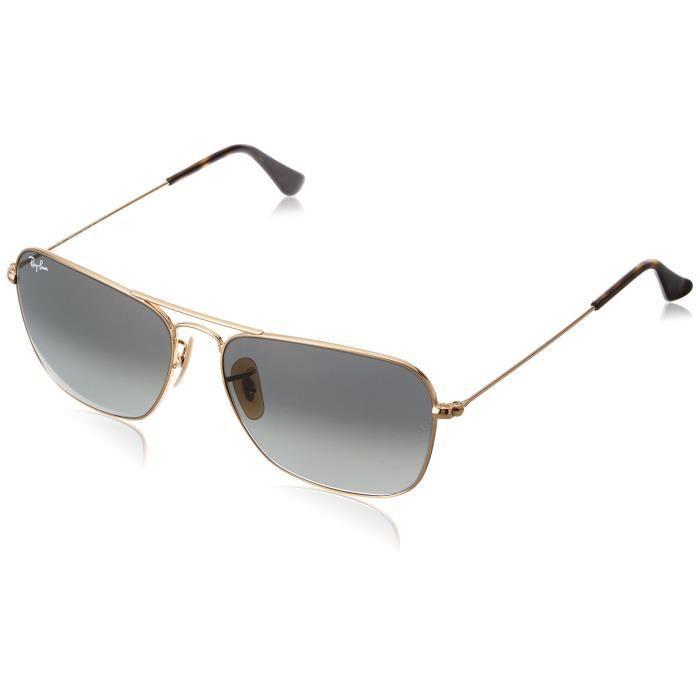 a477994c3107fa Ray-ban Gradient Rectangular Sunglasses (0rb3136181-7158 57  Millimeters light Grey Gradient And Dark Grey) Z5HV3. LUNETTES DE SOLEIL ...