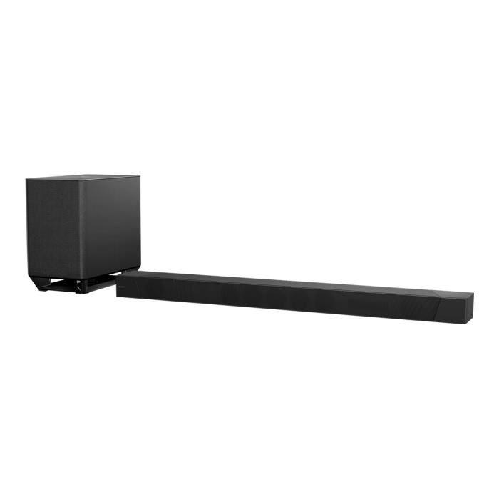 Sony HT-ST5000 Système de barre audio pour home cinéma canal 7.1.2 sans fil Bluetooth, Wi-Fi, NFC