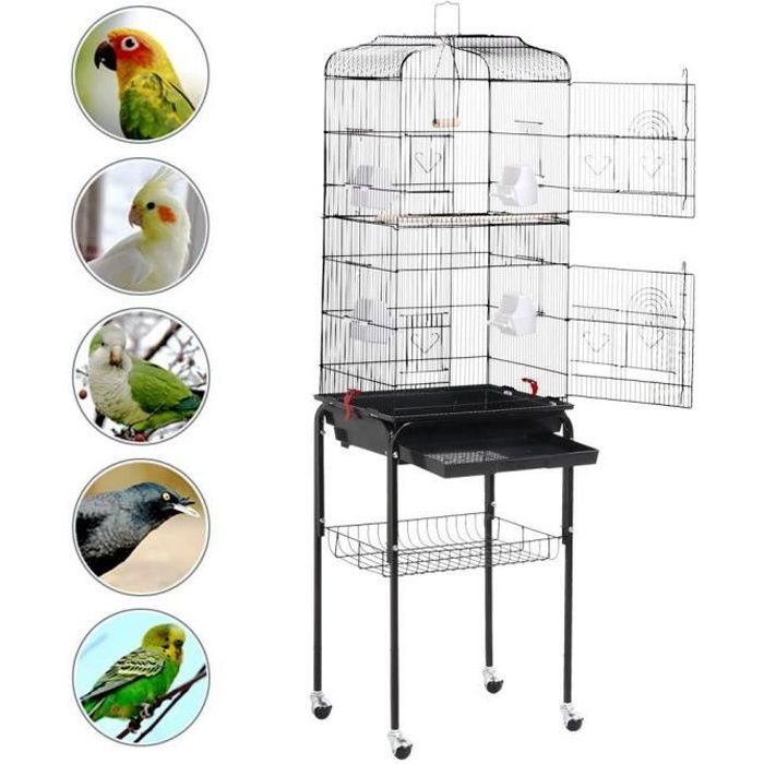 50% price wide range new collection Cages - Habitat oiseaux Zongmic