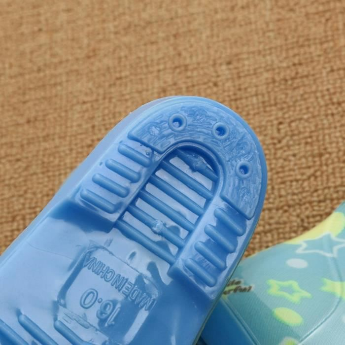 Bonbons Bottes Chaussures Impermable Enfants Enfant Pluie Chaud Nourrisson Exquisgift Au Menthe Verte Caoutchouc De 0dq01