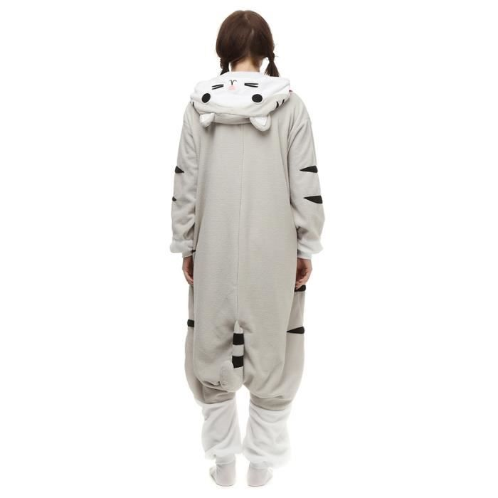 Rat Kigurumi Xfp m Femme Pyjama Cosplay Adulte Homme Hiver fz050blanc Blanc Animé 0Sz8Hg