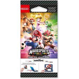 Paquet de 5 cartes Amiibo Mario Sports Superstars