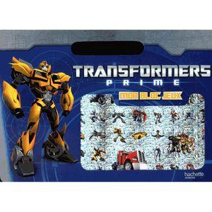 LIVRE JEUX ACTIVITÉS Transformers prime