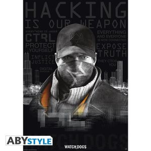 AFFICHE - POSTER Watch Dogs  - Poster
