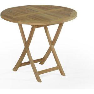 Table de jardin pliante ronde - Achat / Vente Table de jardin ...