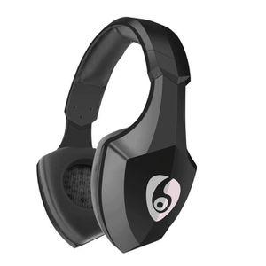 CASQUE - ÉCOUTEURS FATCHOY - S33 Casque supra-auriculaire Bluetooth -