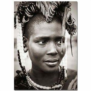 tableau femme africaine achat vente pas cher. Black Bedroom Furniture Sets. Home Design Ideas