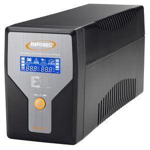 ONDULEUR INFOSEC UPS SYSTEM Onduleur E2 LCD 800