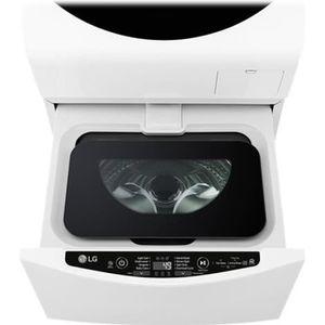 LAVE-LINGE LG FM27K5WH Machine à laver indépendant WiFi large