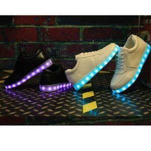 BASKET Chaussure LED homme et femme Les amants de chaussu