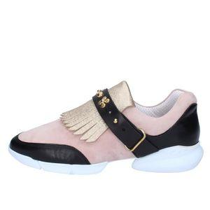 BASKET GUARDIANI Chaussures Femme Baskets Doré AB764