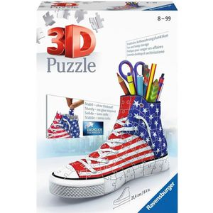 PUZZLE RAVENSBURGER Puzzle 3D Sneaker American Style 108