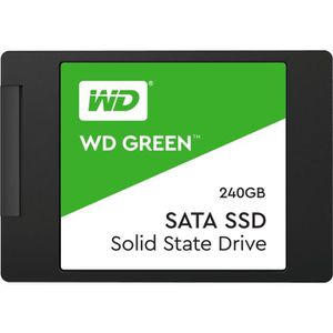 DISQUE DUR SSD WD Green SSD - Format 2.5 / 7mm - 240 Go