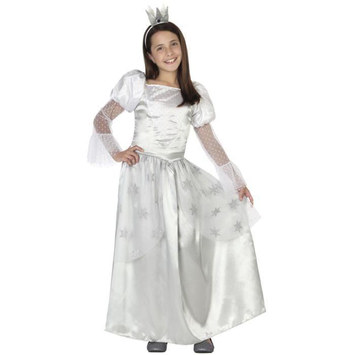 ATOSA Deguisement De Fée Des Neiges Fille - Panoplie Enfant