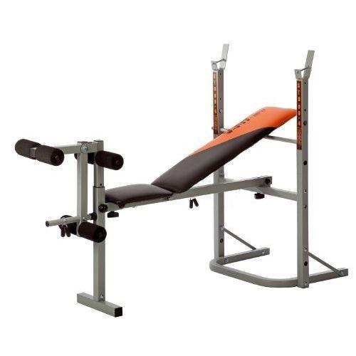 BANC DE MUSCULATION V-Fit Banc de musculation a...