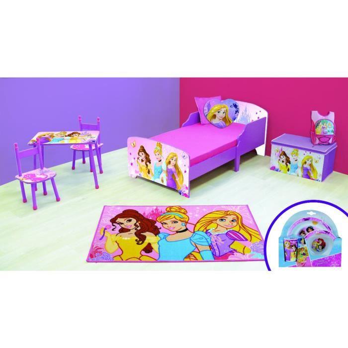 Chambre Complete 9 En 1 Princesses Disney Rose Achat Vente