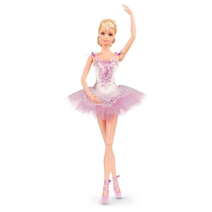 Poup e barbie collector danseuse toile achat vente poup e cdiscount - Barbi danseuse etoile ...