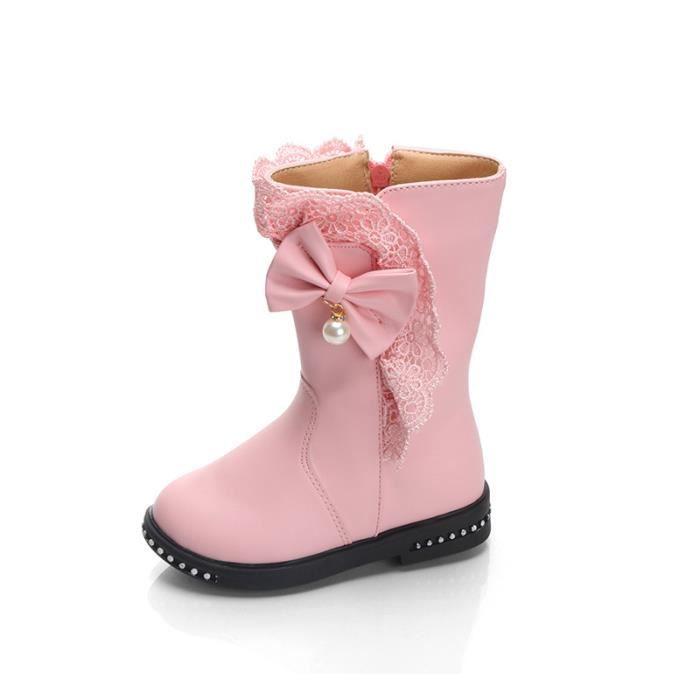 Chaussures bottes enfant simili cuir 2rcYP2LM7W