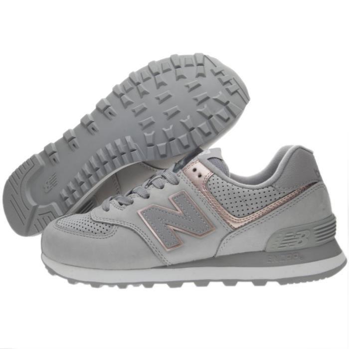 new balance m574 gris femme