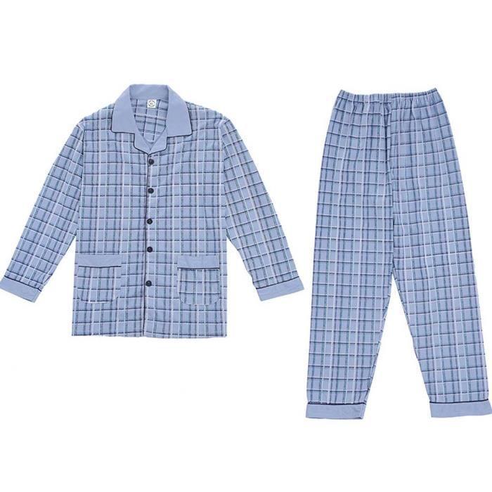6d879cf86d116 Pyjama homme carreaux - Achat / Vente pas cher