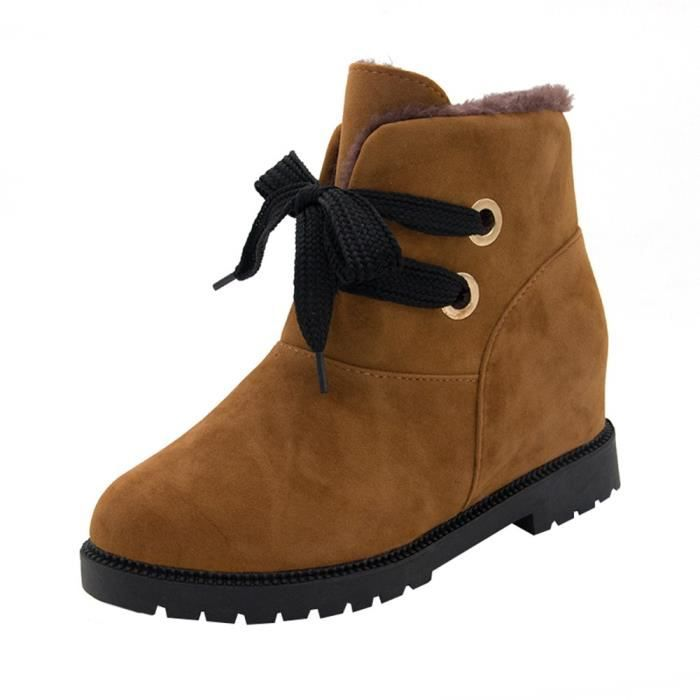 Suede Women De 2384 Coton Velvet Bottines Bottes Rchauffez Martin Neige Chaussures qwSAxCd5