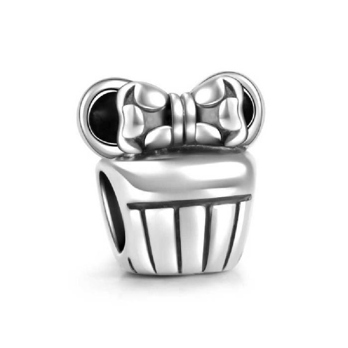 Soufeel Femmes 925 argent en argent sterling mignon Micky Charm Bracelets perles Fit européens meilleurs cadeaux LIK92