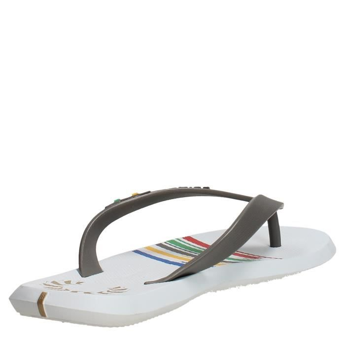 Rider Tongs Homme Blanc/Gris, 41