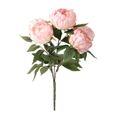 Fleur Artificielle Pivoine Decoration Maison Rose Achat Vente