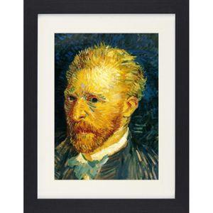 TABLEAU - TOILE Poster De Collection Encadré Vincent Van Gogh - Po