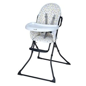 CHAISE HAUTE  SAFETY 1ST Chaise Haute Kanji - Grey Patches