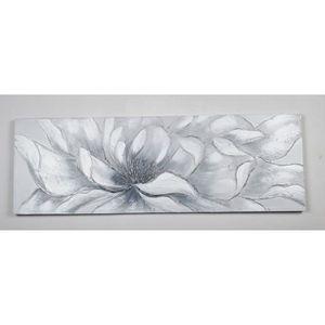 TABLEAU - TOILE Tableau déco Fleurs  105 -  Toile peinte à la main