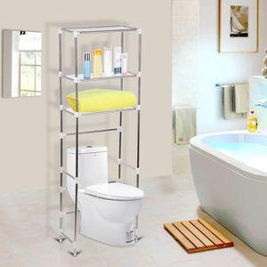 meuble salle de bain au dessus toilette achat vente. Black Bedroom Furniture Sets. Home Design Ideas