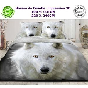housse de couette animaux 220x240 achat vente housse de couette animaux 220x240 pas cher. Black Bedroom Furniture Sets. Home Design Ideas