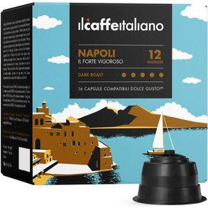 CAFÉ 96 Capsules de Café Napoli compatibles avec  machi