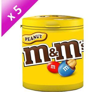 CONFISERIE DE SUCRE MARS Lot de 5 Cacahuètes enrobées de chocolat au l