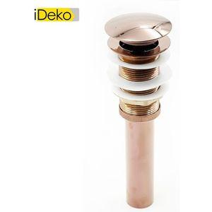 BONDE - CABOCHON iDeko® Bonde Pop-up Automatique pour Evier Lavabo